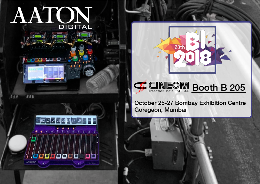 Aaton-Digital at Broadcast India show 2018