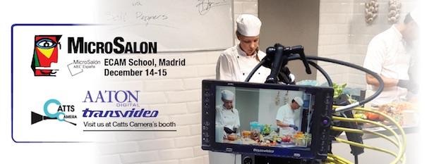 Aaton Transvideo AEC MicroSalon & Workshop