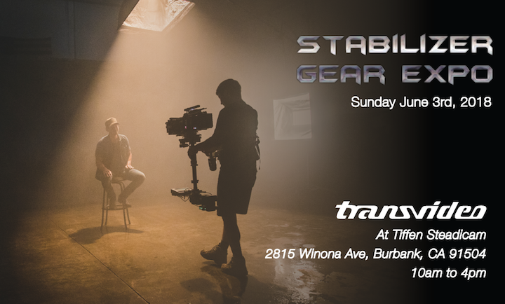 Transvideo at Stabilizer expo 2018