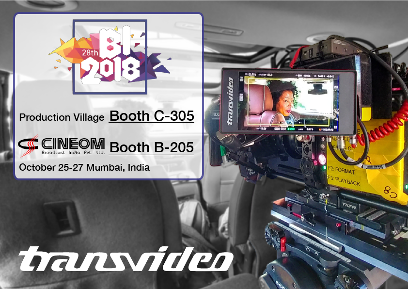 Transvideo at Broadcast India show 2018
