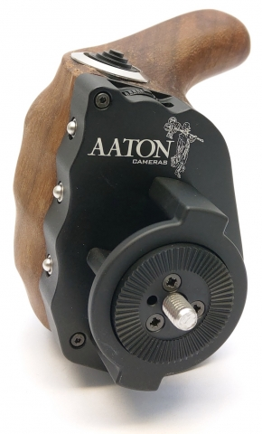Aaton-cameras smart grip handle for red arri sony