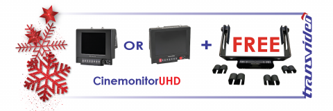 CinemonitorUHD SBL+ SXBL Universal multirods steadicam offer