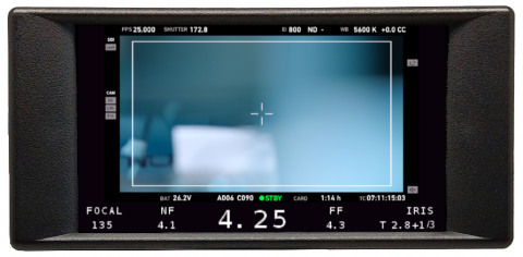 Transvideo StarlteHD+ monitor recorder Focus Puller