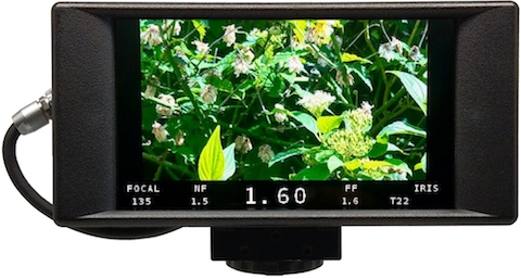 Transvideo StarlteHD V2 monitor recorder Focus Puller view